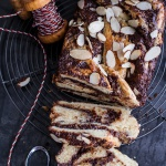 Salted Chocolate and Marzipan Babka-1
