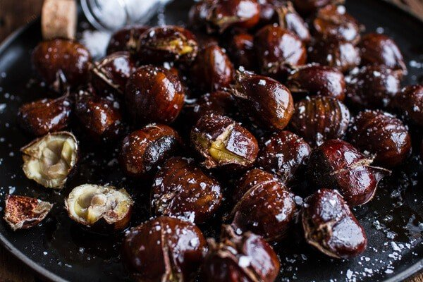 foil packets bring roasted chestnuts dan roman s buttery roasted comme ...