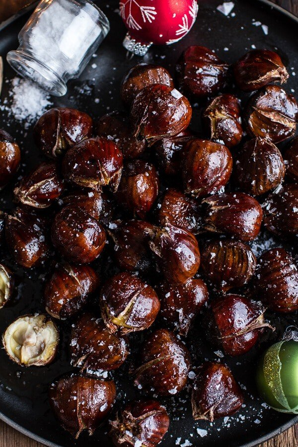 lot of chestnut recipe are simply roasted with butter and salt, but ...
