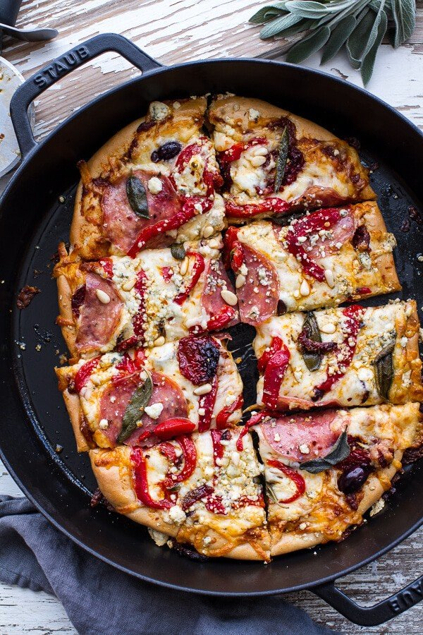 French Bread Pizza With Pesto & Sun-Dried Tomatoes Recipe ...