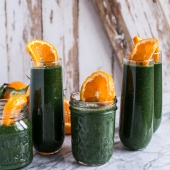 Holiday Detox- The Mean Green Smoothie-1