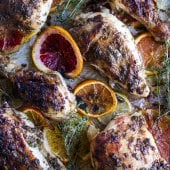 Jamaican Jerk and Citrus Pineapple Roasted Chicken.-1
