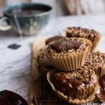 Vanilla Chia and Earl Grey Chocolate Banana Muffins.