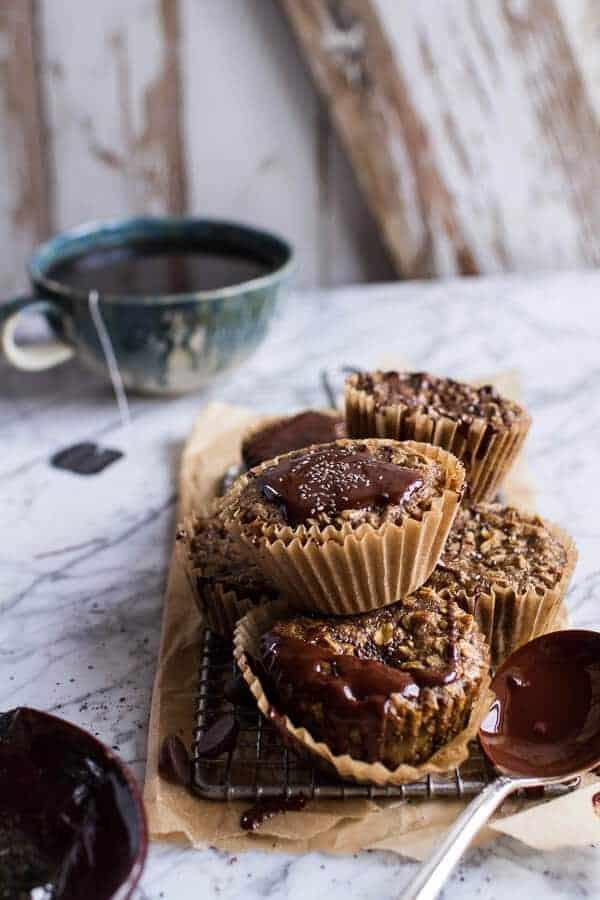 Vanilla Chia and Earl Grey Chocolate Banana Muffins | halfbakedharvest.com @hbharvest