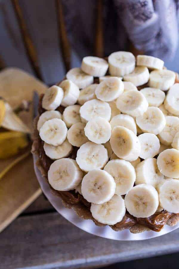 Chocolate Coconut French Silk Banoffe Tart | halfbakedharvest.com @hbharvest