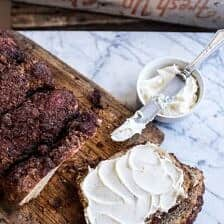 Cinnamon Crunch Bagel Loaf.