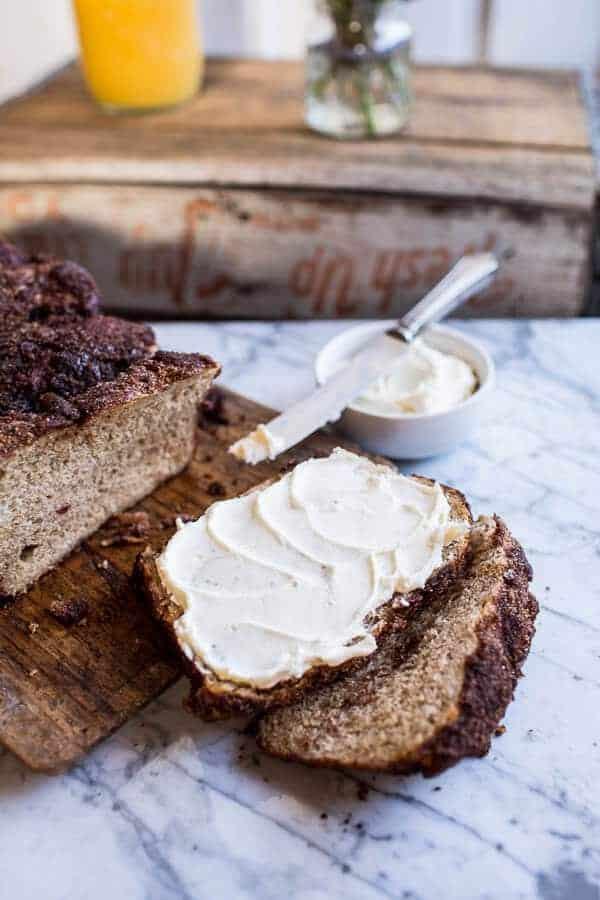 Cinnamon Crunch Bagel Loaf | halfbakedharvest.com @hbharvest