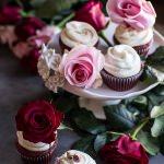 Deep Dark and Rosy, Red Velvet Cupcakes.