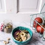 Roasted Cashew-Almond Yogurt Bowl with Stove-Top Matcha Green Tea Granola-1