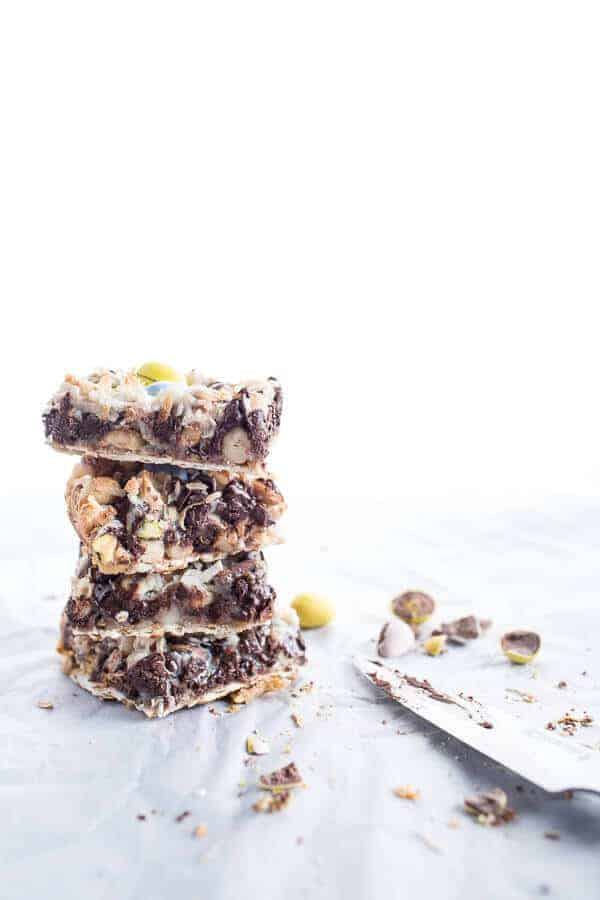 5 Ingredient (MAGIC) Matzo Chocolate Bars | halfbakedharvest.com @hbharvest