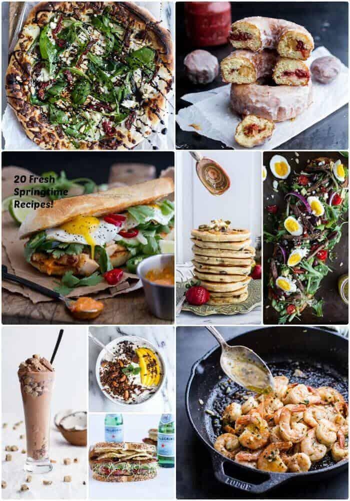 20 Fresh Springtime Eats! | halfbakedharvest.com @hbharvest