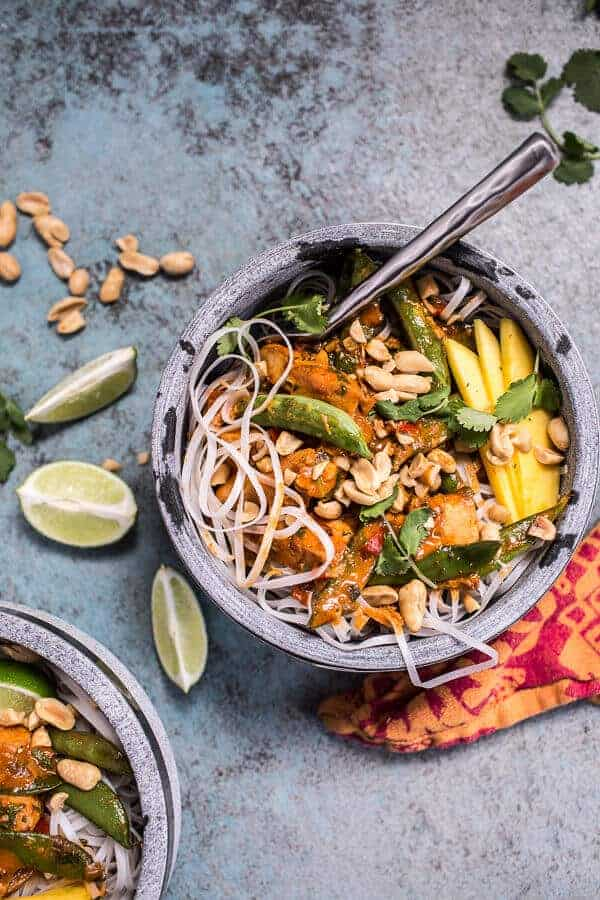 Spring Time Thai Red Fish Curry Noodles | halfbakedharvest.com @hbharvest