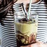 Vanilla Almond Matcha and Chocolate Lava Shake-1