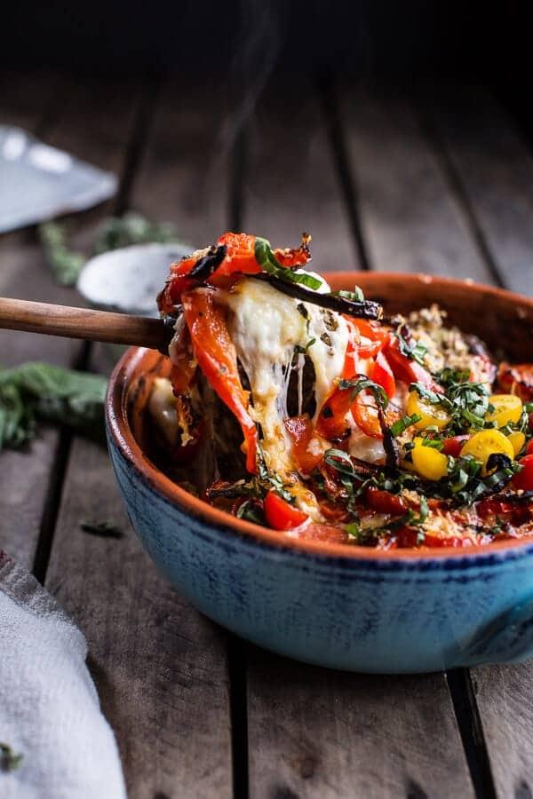 One-Pan Spring Tuscan Quinoa Bake | halfbakedharvest.com @hbharvest