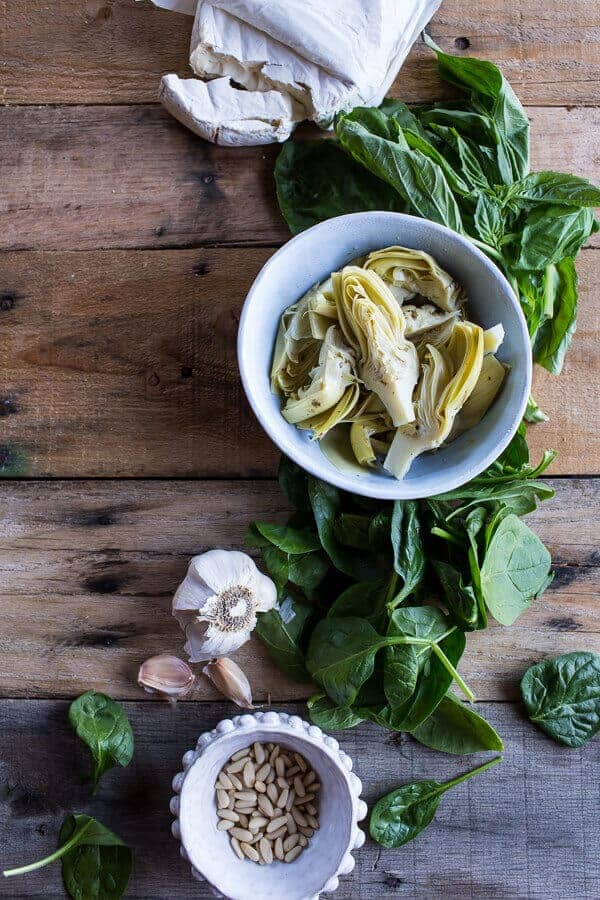 Spinach and Artichoke Galette | halfbakedharvest.com @hbharvest