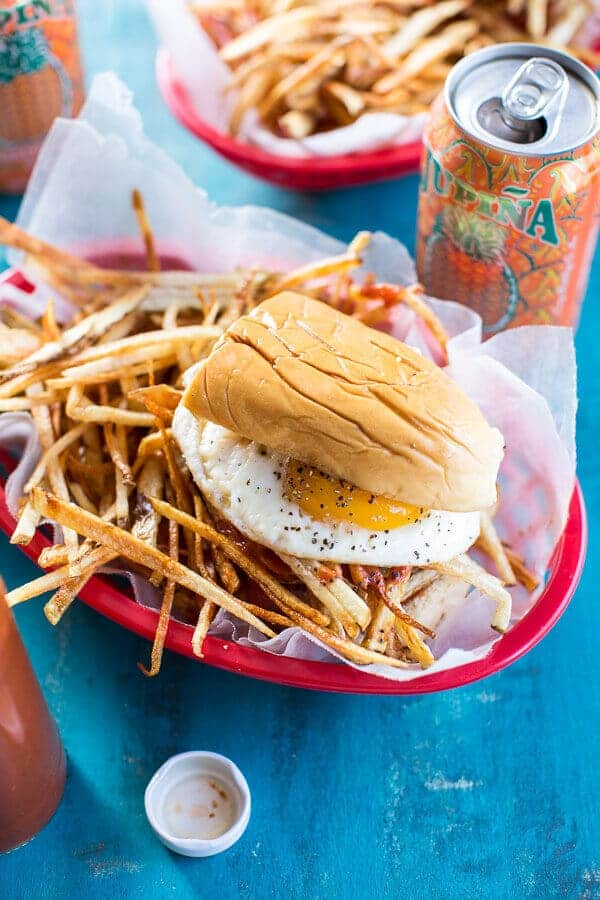 The Cuban Frita Burger   halfbakedharvest.com @hbharvest
