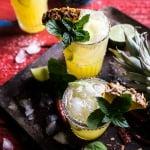4-Ingredient Pineapple Lime Chelada (I made us a drink!)   halfbakedharvest.com @hbharvest