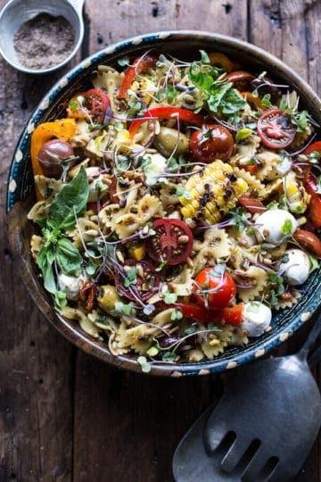 Everything But the Kitchen Sink Pasta Salad.