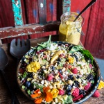 Very Berry Dream Salad with Chili Mango and Peanut Vinaigrette | halfbakedharvest.com @hbharvest