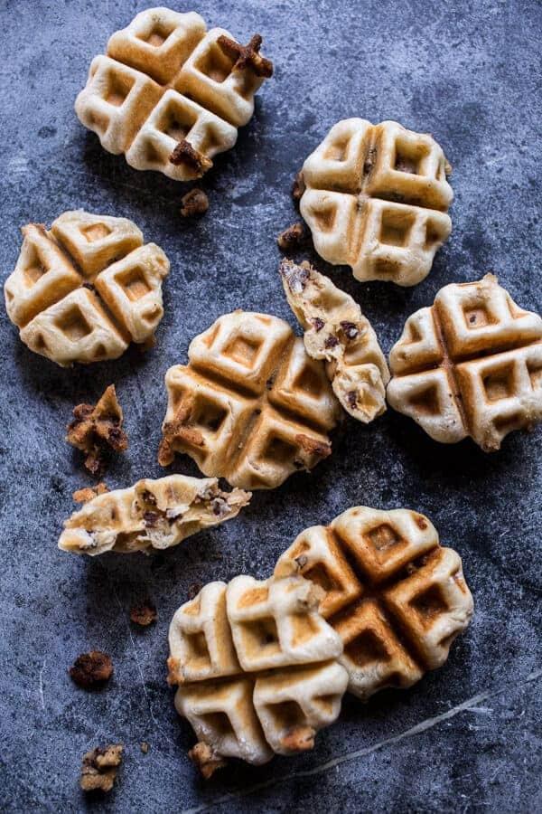 These waffles have something kind of amazing hiding inside. Something ...