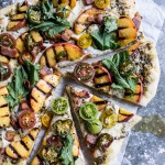 BLT and Grilled Peach Pizza + My Favorite Links!