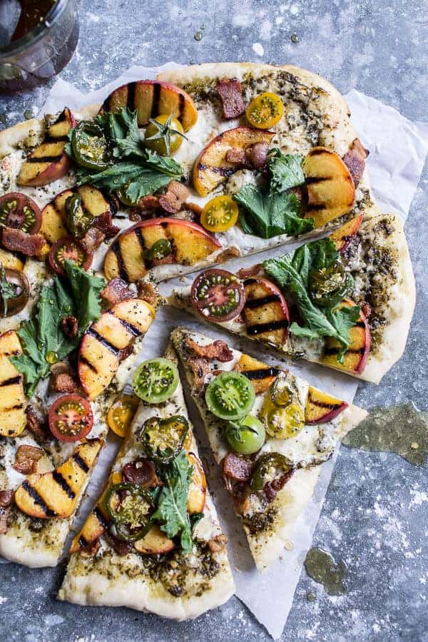 grilled squash blossom pizza grilled asparagus and ricotta pizza ...