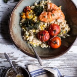 Brown Butter Lobster, Sweet Corn and Fontina Risotto | halfbakedharvest.com @hbharvest