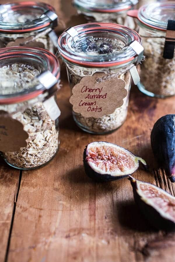 Homemade Instant Oatmeal 5 Ways…For Back to School | halfbakedharvest.com @hbharvest