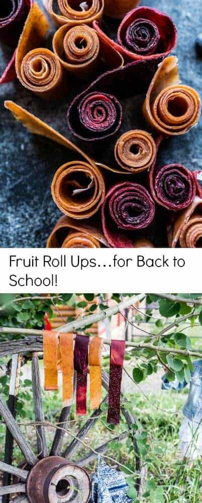 Fruit Roll Ups…for Back to School | halfbakedharvest.com @hbharvest