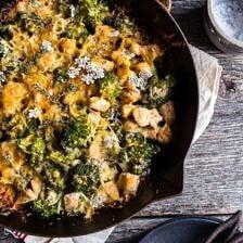 Chicken and Broccoli Skillet Bake.
