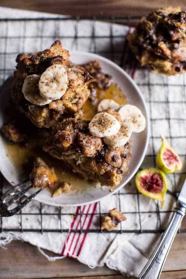 Chocolate Chip Banana Bread French Toast Muffins with Cinnamon Streusel | halfbakedharvest.com @hbharvest
