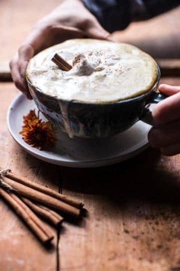 Coconut Pumpkin Spice Latte + Video