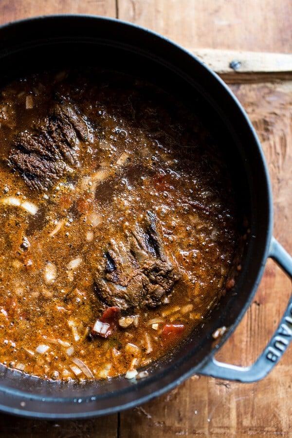 Crockpot Carne Asada Beer Chili | halfbakedharvest.com @hbharvest