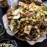 Easy Enchilada Beef Nachos | halfbakedharvest.com @hbharvest