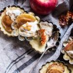 Easy Warm Swedish Caramel Apple Cheesecake | halfbakedharvest.com @hbharvest