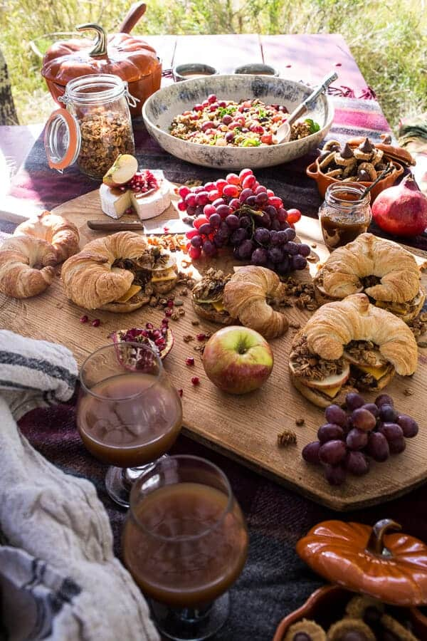 Fall Harvest Peanut Picnic + a Family Hike! | halfbakedharvest.com @hbharvest