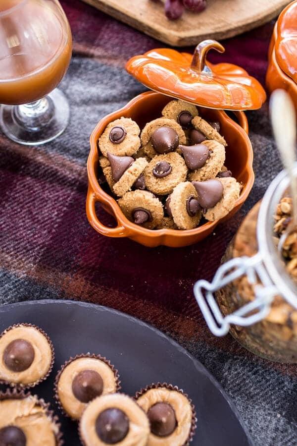 Peanut Butter Acorn Cookies | halfbakedharvest.com @hbharvest