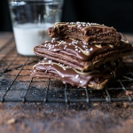Homemade Chocolate Peanut Butter Fudge Pop-Tarts.