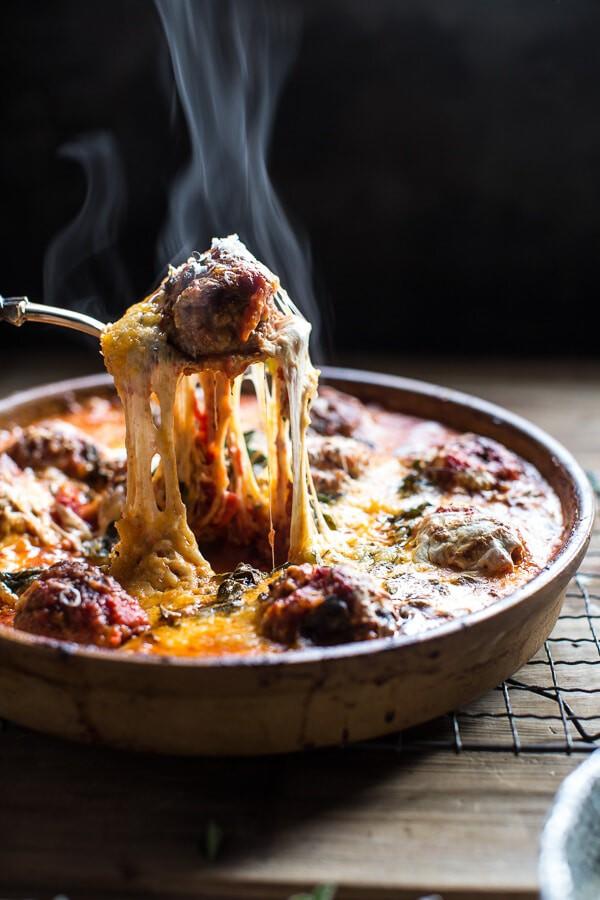 Simple Baked Italian Oregano Meatballs Half Baked Harvest