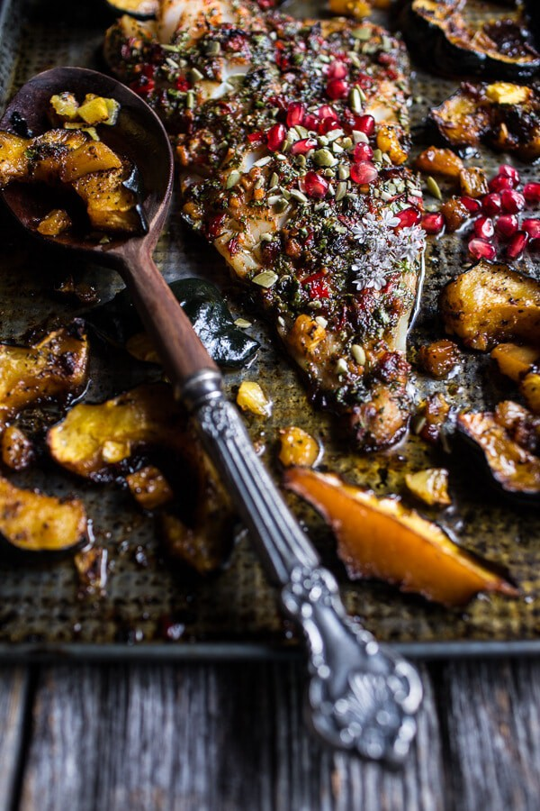Slow Roasted Cod with Brown Sugar Pineapple Glazed Acorn Squash ...