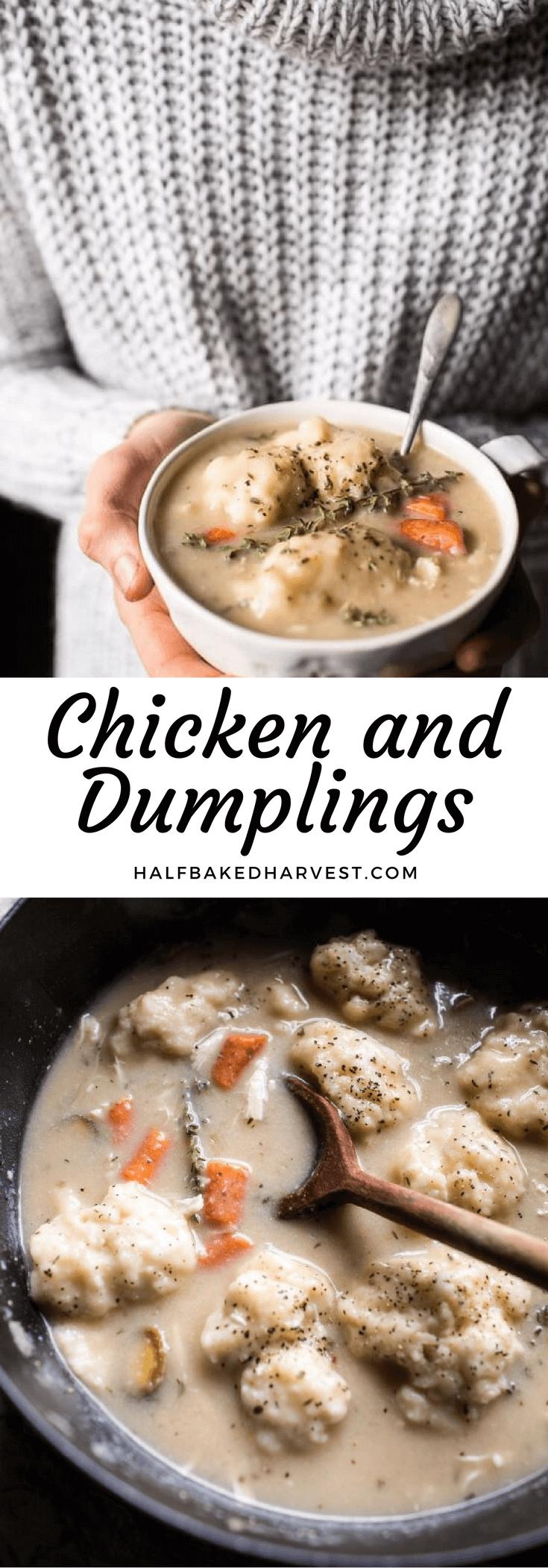Chicken and Dumplings | halfbakedharvest.com @hbharvest