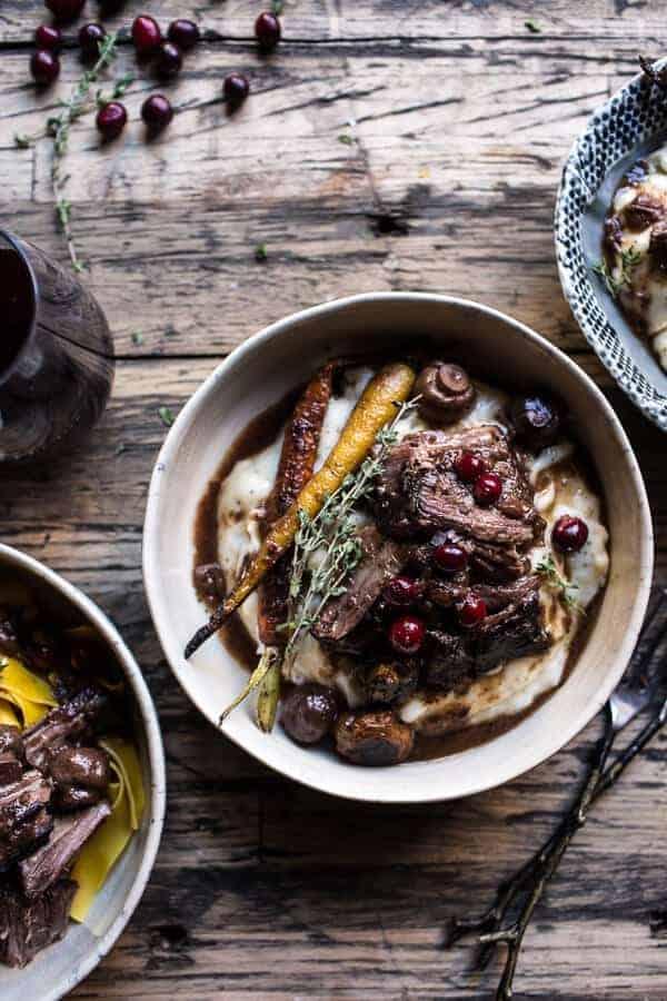 Cranberry Pot Roast | halfbakedharvest.com @hbharvest