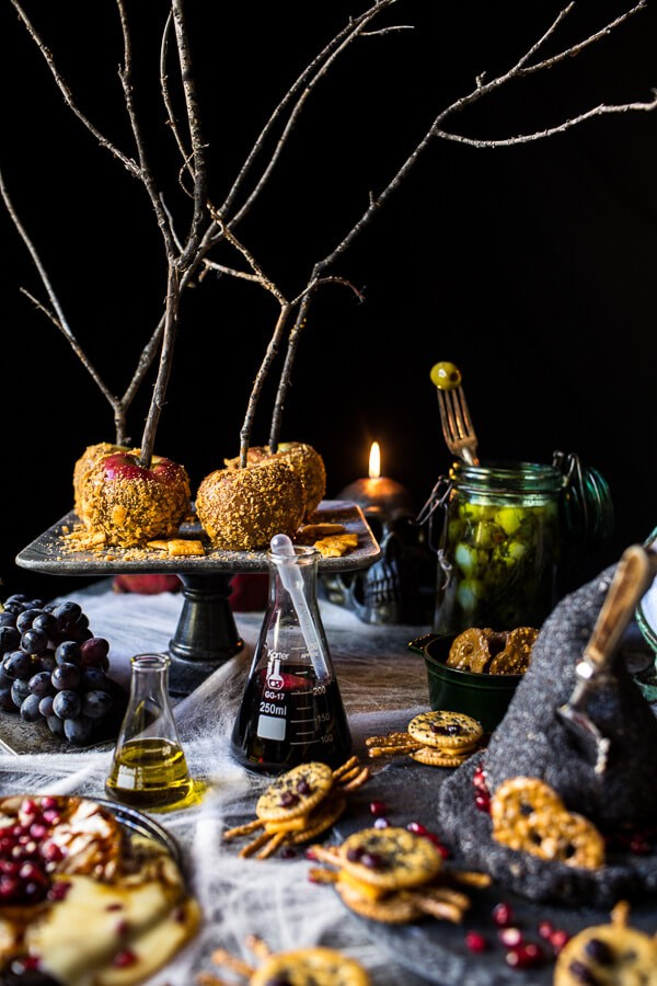 Deathly Hallows Cheese Board | halfbakedharvest.com @hbharvest