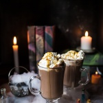 Pumpkin Butterbeer Hot Chocolate (VIDEO).