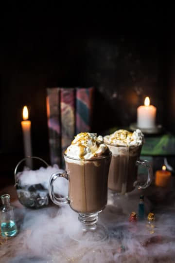 Pumpkin Butterbeer Hot Chocolate + Video