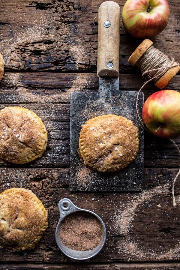 Caramelized Condensed Milk Mini Apple Pies | halfbakedharvest.com @hbharvest