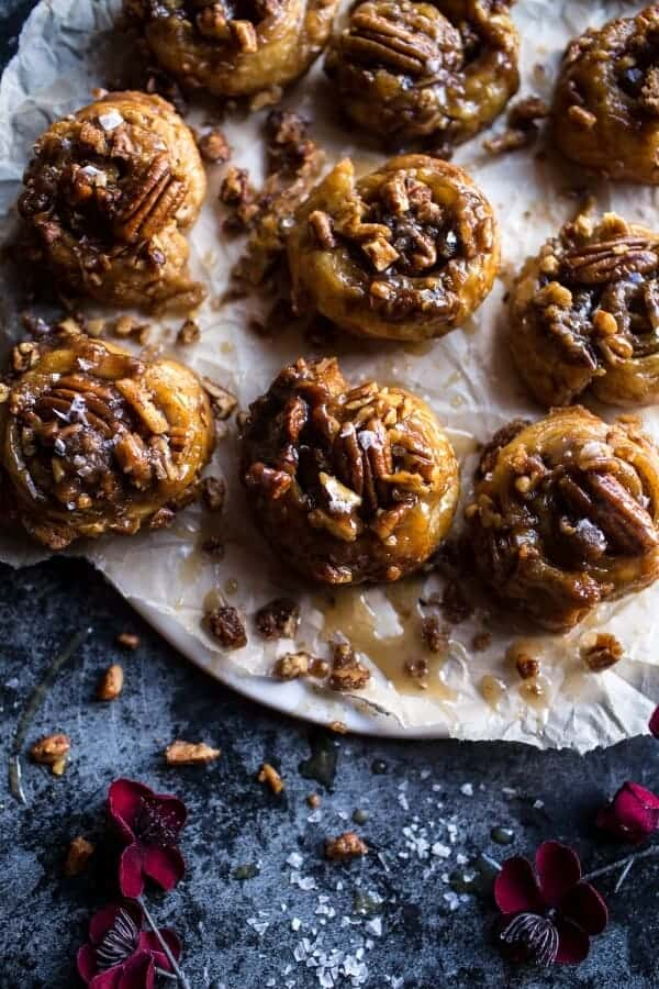 Cheat's Brown Butter and Salted Maple Pecan Sticky Buns | halfbakedharvest.com @hbharvest