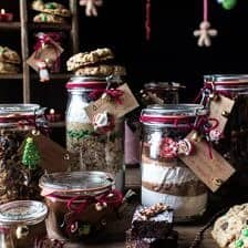 Edible Christmas Gifts In Jars.