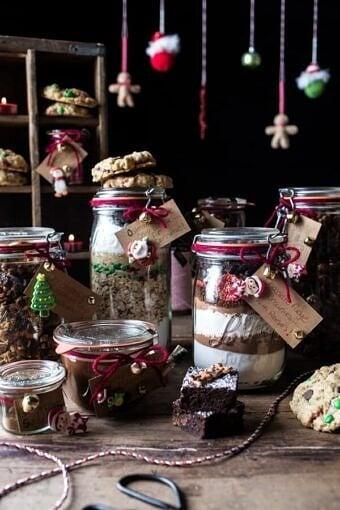 Edible Christmas Gifts In Jars (Plus a Giveaway!!) } halfbakedharvest.com @hbharvest