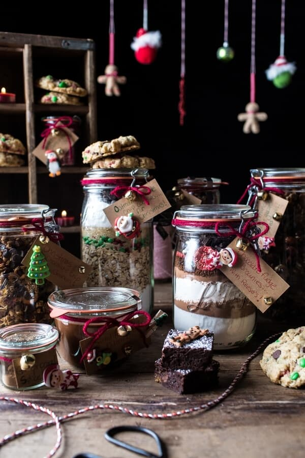 Edible Christmas Gifts In Jars. - Half Baked Harvest
